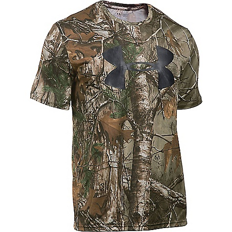 Under Armour Men's Big Logo Camo Tech Tee 3220286