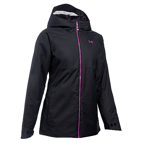 Under Armour Women's ColdGear Infrared Snowcrest Jacket Black / Magenta Shock