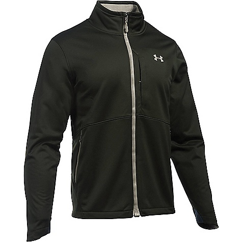 Under Armour Men's ColdGear Infrared Softershell Jacket Artillery Green / Greystone