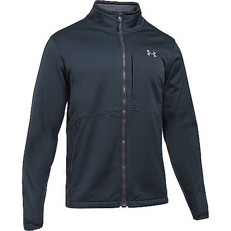 Under Armour Men's ColdGear Infrared Softershell Jacket Stealth Grey / Overcast Grey
