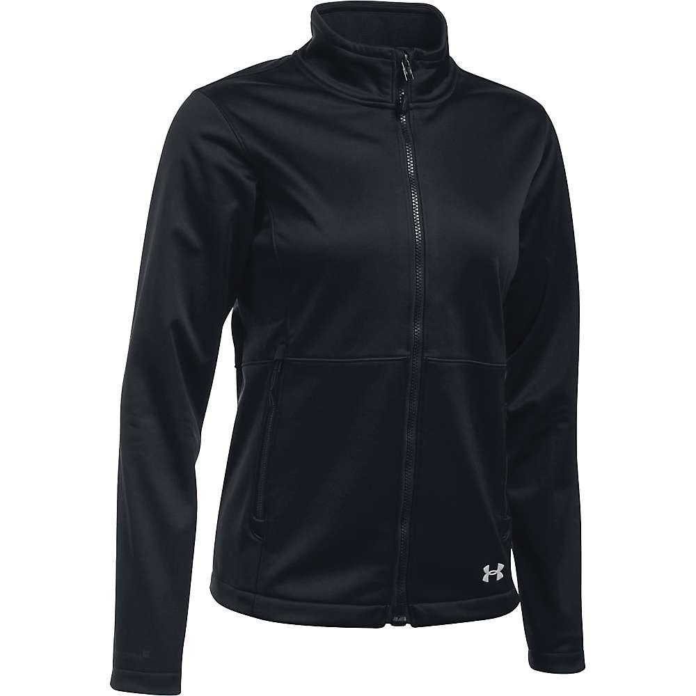 Under Armour Women's ColdGear Infrared Softershell Jacket - XS - Black / Glacier Grey