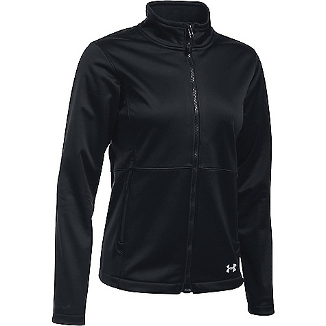 Under Armour Women's ColdGear Infrared Softershell Jacket Black / Glacier Grey