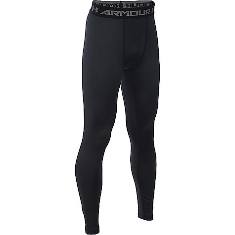 Under Armour Boys' UA ColdGear Armour Legging Black / Reflective