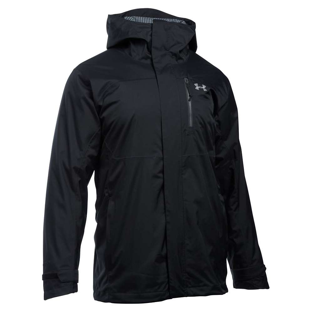 Under Armour Men's ColdGear Reactor Claimjumper 3 In 1 Jacket - Small - Black / Steel