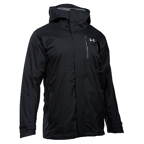Under Armour Men's ColdGear Reactor Claimjumper 3 In 1 Jacket Black / Steel