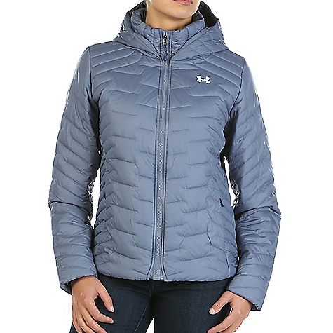 Under Armour Women's UA ColdGear Reactor Hooded Jacket 1280892