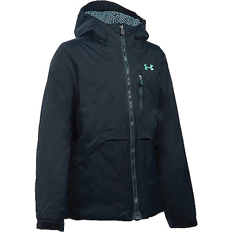 Under Armour Girl's ColdGear Reactor Yonders Jacket Black / Crystal