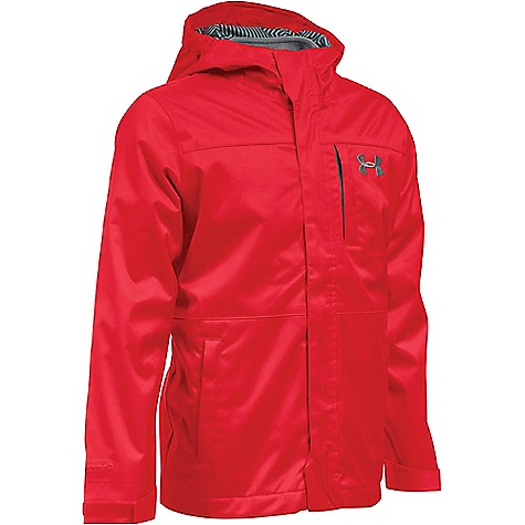 Under Armour Boys' UA ColdGear Infrared Wildwood 3 In 1 Jacket Red / Graphite / Graphite