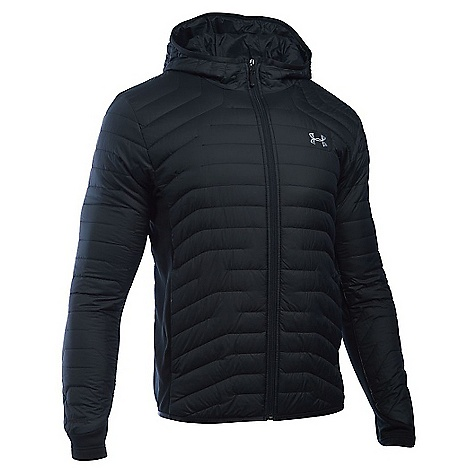 Under Armour Men's ColdGear Reactor Hybrid Jacket Black / Steel