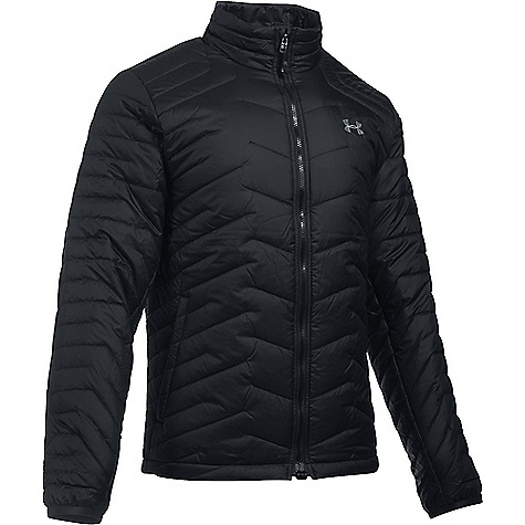 Under Armour Men's UA ColdGear Reactor Jacket Black / Black / Steel