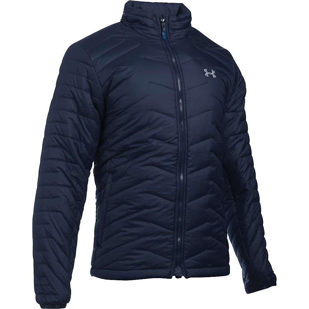 Under Armour Men's UA ColdGear Reactor Jacket - Medium - Midnight Navy / Overcast Grey