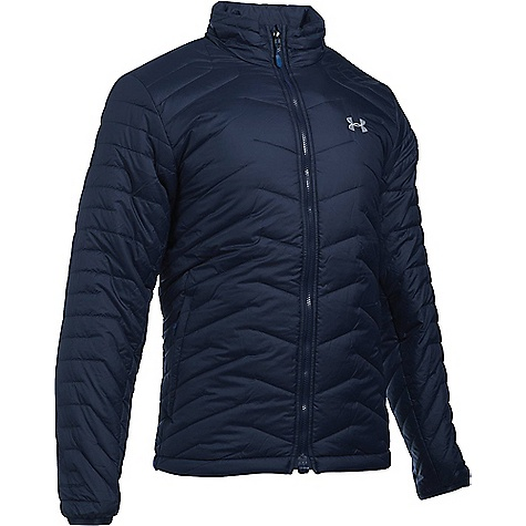 Under Armour Men's UA ColdGear Reactor Jacket Midnight Navy / Overcast Grey