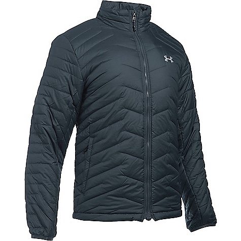 Under Armour Men's UA ColdGear Reactor Jacket Stealth Grey / Overcast Grey