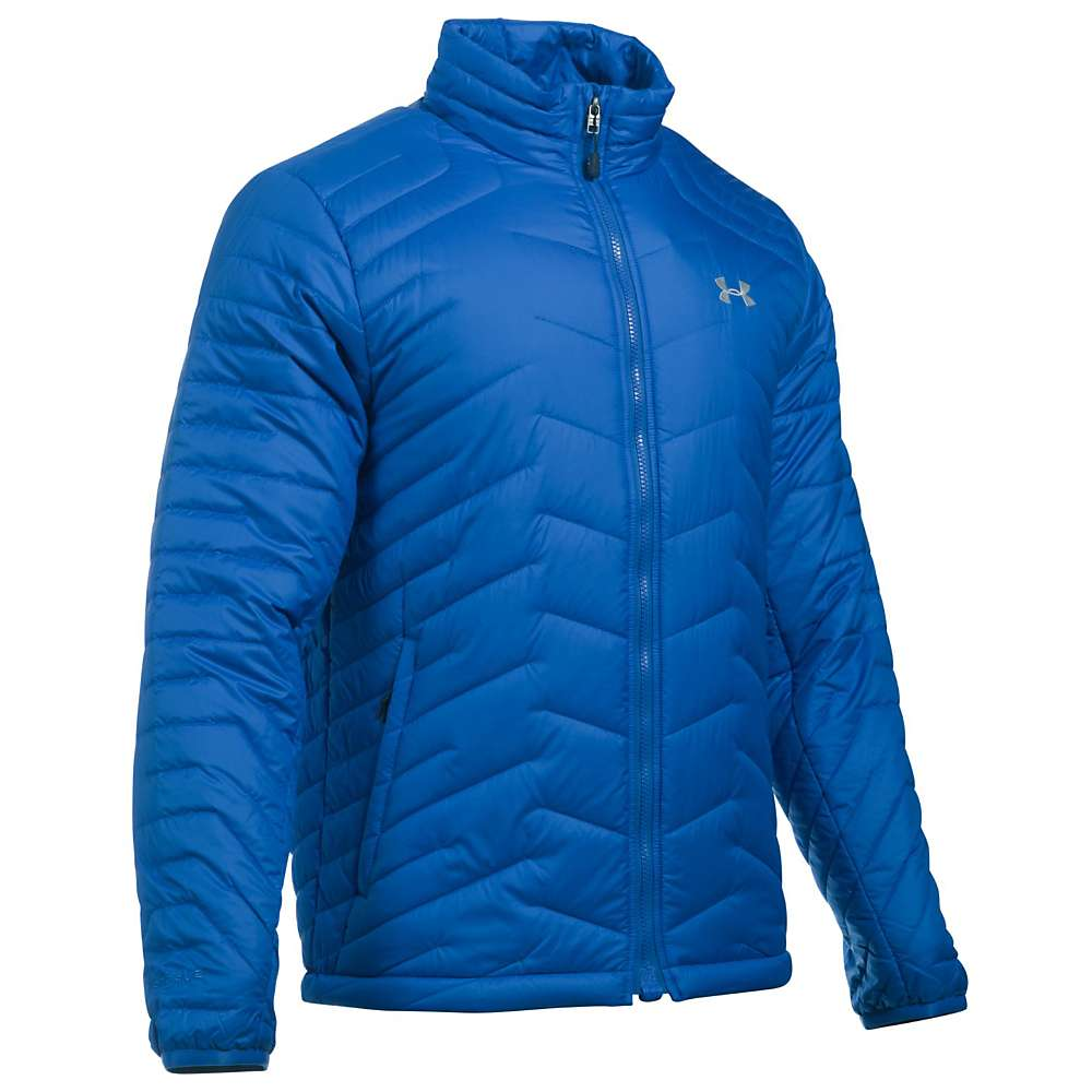 Under Armour Men's UA ColdGear Reactor Jacket - Medium - Ultra Blue / Midnight Navy / Overcast Grey