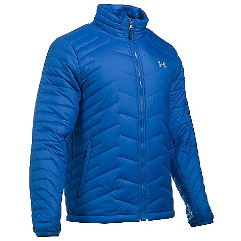 Under Armour Men's UA ColdGear Reactor Jacket Ultra Blue / Midnight Navy / Overcast Grey