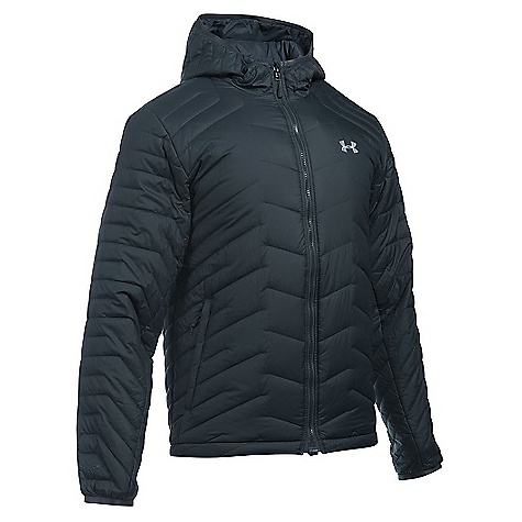 Under Armour Men's UA ColdGear Reactor Hooded Jacket Stealth Grey / Overcast Grey