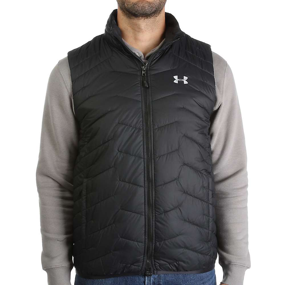 Under Armour Men's ColdGear Reactor Vest - Large - Black / Steel