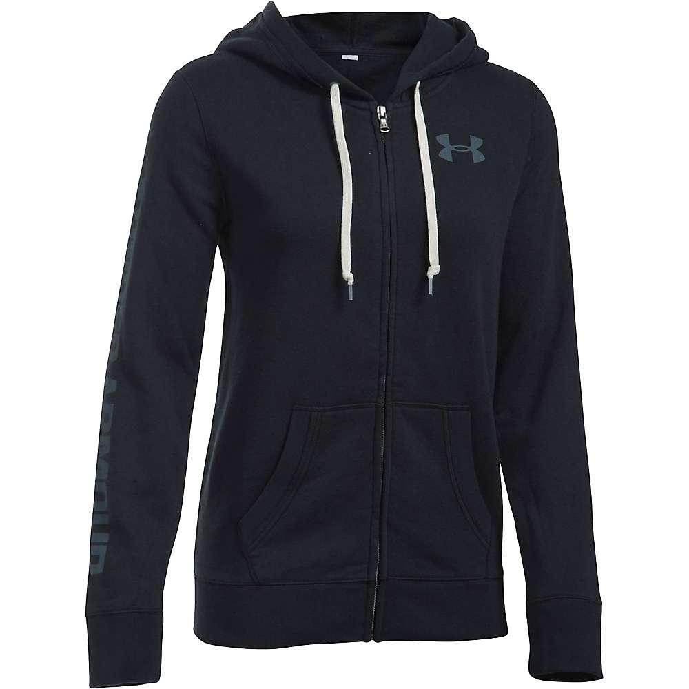 Under Armour Women's Favorite Fleece Full Zip Hoodie - Small - Black / White