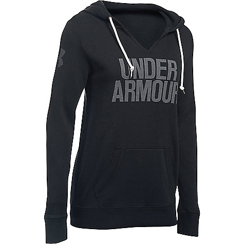 Under Armour Women's Favorite Fleece Hoodie Black / White