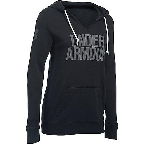 Under Armour Women's Favorite Fleece Hoodie Black / White