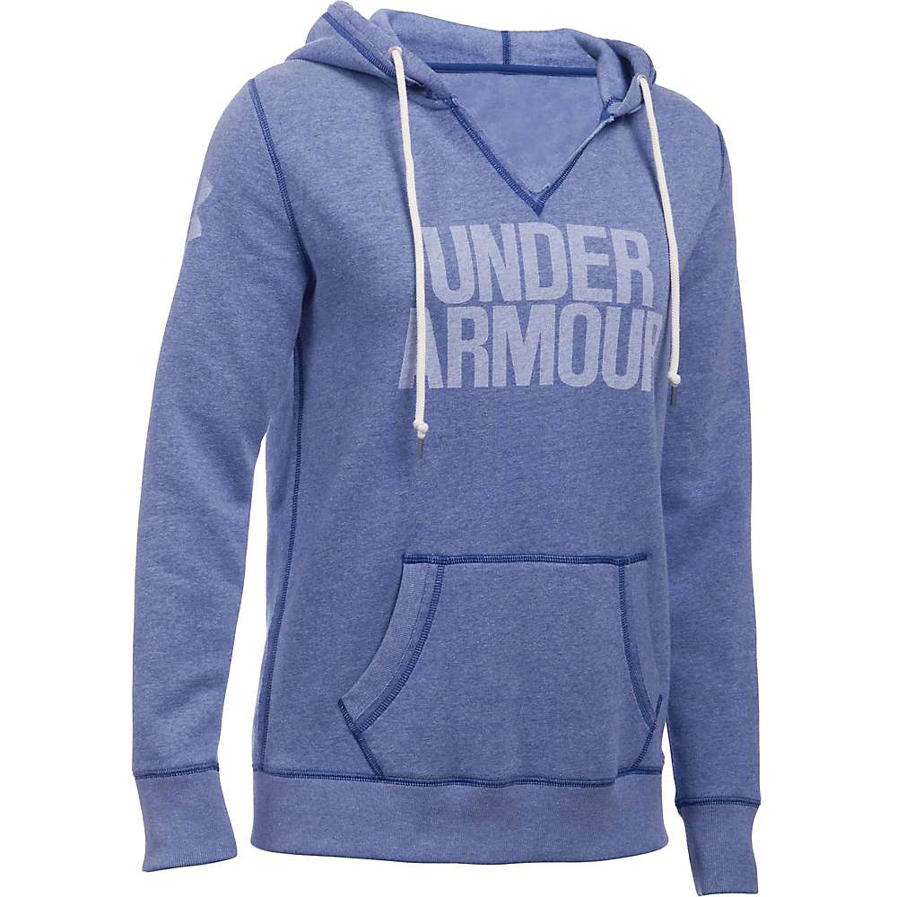 Under Armour Women's Favorite Fleece Hoodie - Large - Heron / White