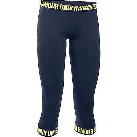 Under Armour Women's UA Favorite Capri Midnight Navy / Black / X-Ray