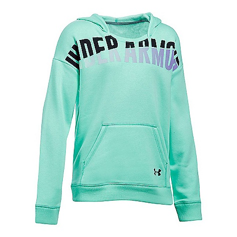 Under Armour Girl's Favorite Fleece Hoody Crystal / Black