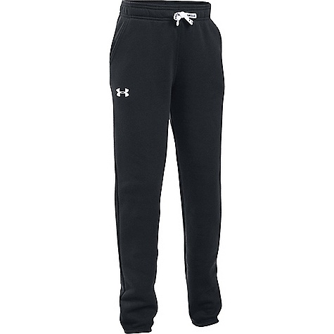 Under Armour Girl's Favorite Jogger Pant Black / White