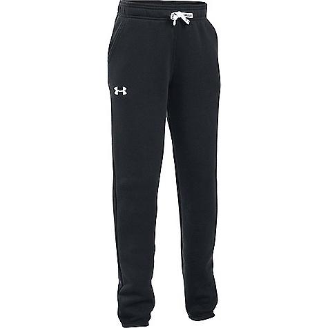 Under Armour Girl's Favorite Jogger Pant Black / White