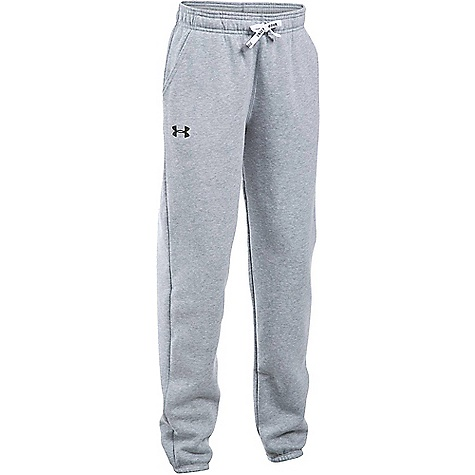 Under Armour Girl's Favorite Jogger Pant True Grey Heather / Black