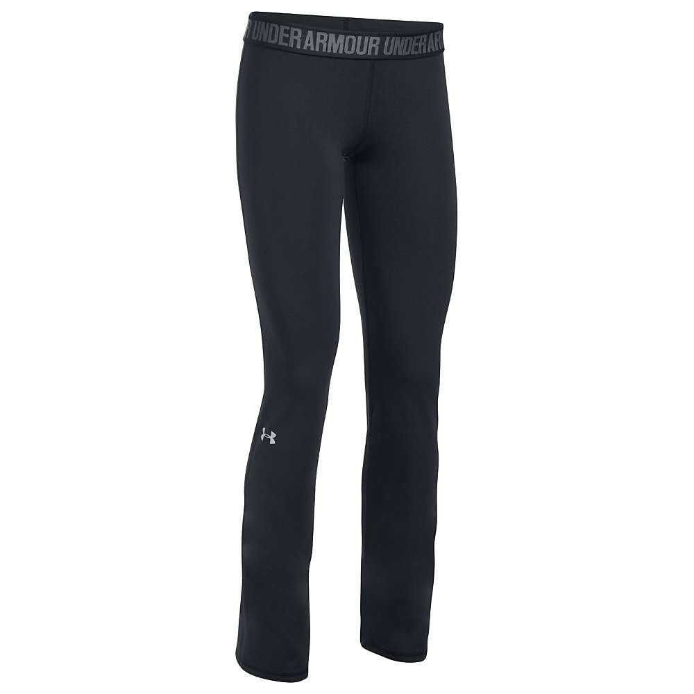 Under Armour Women's UA Favorite Pant - Large - Black / Black / Metallic Silver