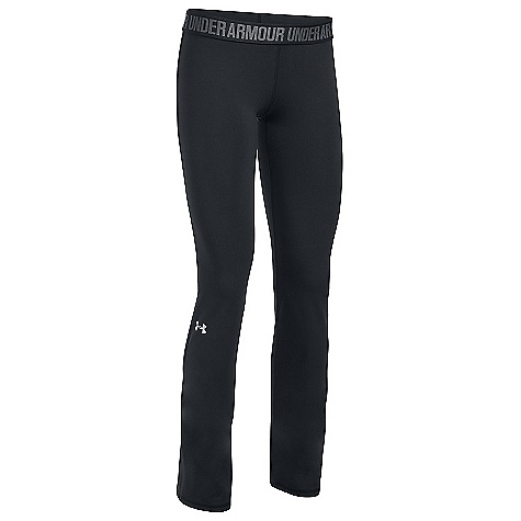 Under Armour Women's UA Favorite Pant Black / Black / Metallic Silver