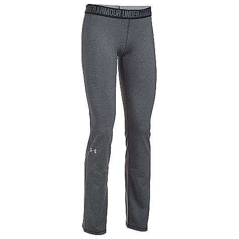 Under Armour Women's UA Favorite Pant Carbon Heather / Black / Metallic Silver