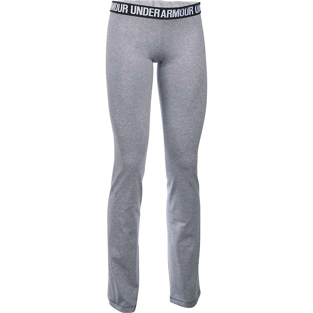 Under Armour Women's UA Favorite Pant - Small - True Grey Heather / Metallic Silver