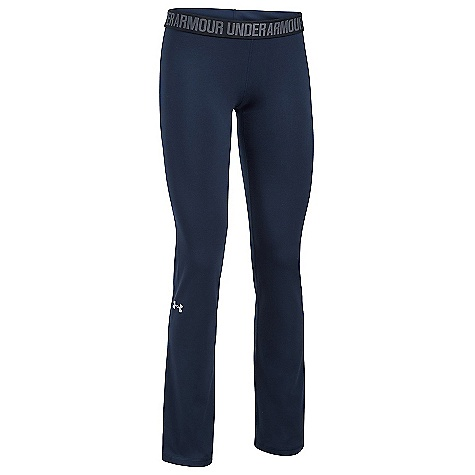 Under Armour Women's UA Favorite Pant Midnight Navy / Black / Metallic Silver