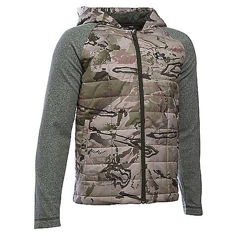Under Armour Youth Hybrid Jacket Ridge Reaper Camo Barren / Artillery Green