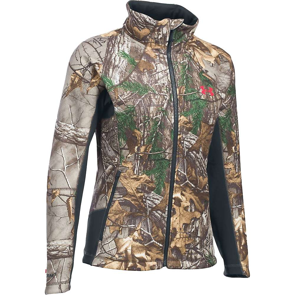 Under Armour Women's Stealth Jacket - Large - Realtree Ap-Xtra / Pink Chroma