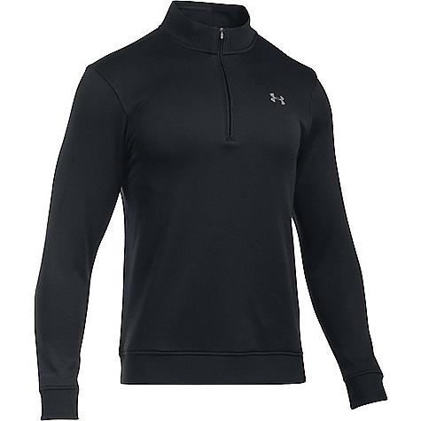 Under Armour Men's UA Storm SweaterFleece 1/4 Zip Top Black / Black / Graphite