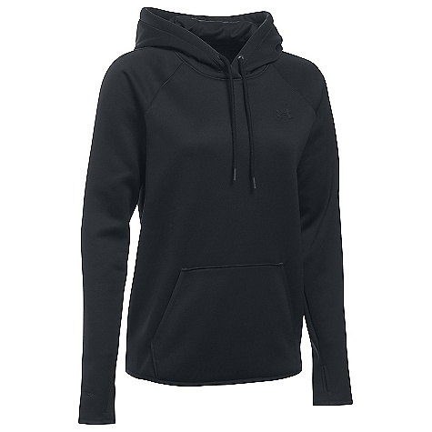 Under Armour Women's UA Storm Armour Fleece Icon Hoodie Black / Black / Black