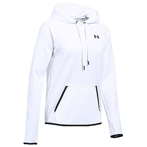 Under Armour Women's UA Storm Armour Fleece Icon Hoodie White / Black / Black