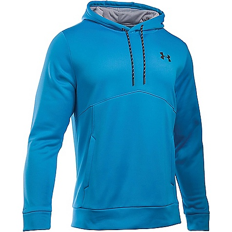 Under Armour Men's UA Storm Armour Fleece Icon Hoodie Black / Steel / Black