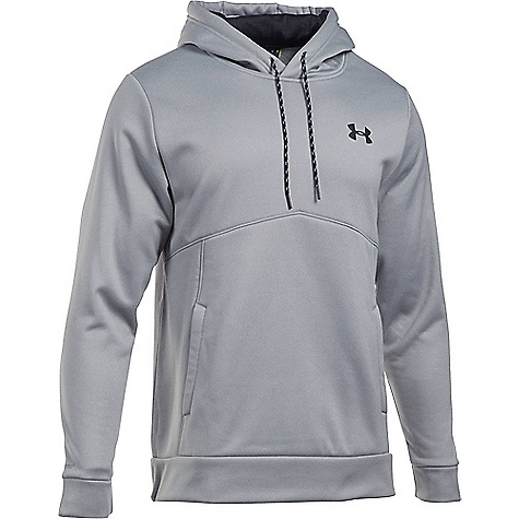 Under Armour Men's UA Storm Armour Fleece Icon Hoodie True Grey Heather / Graphite / Black