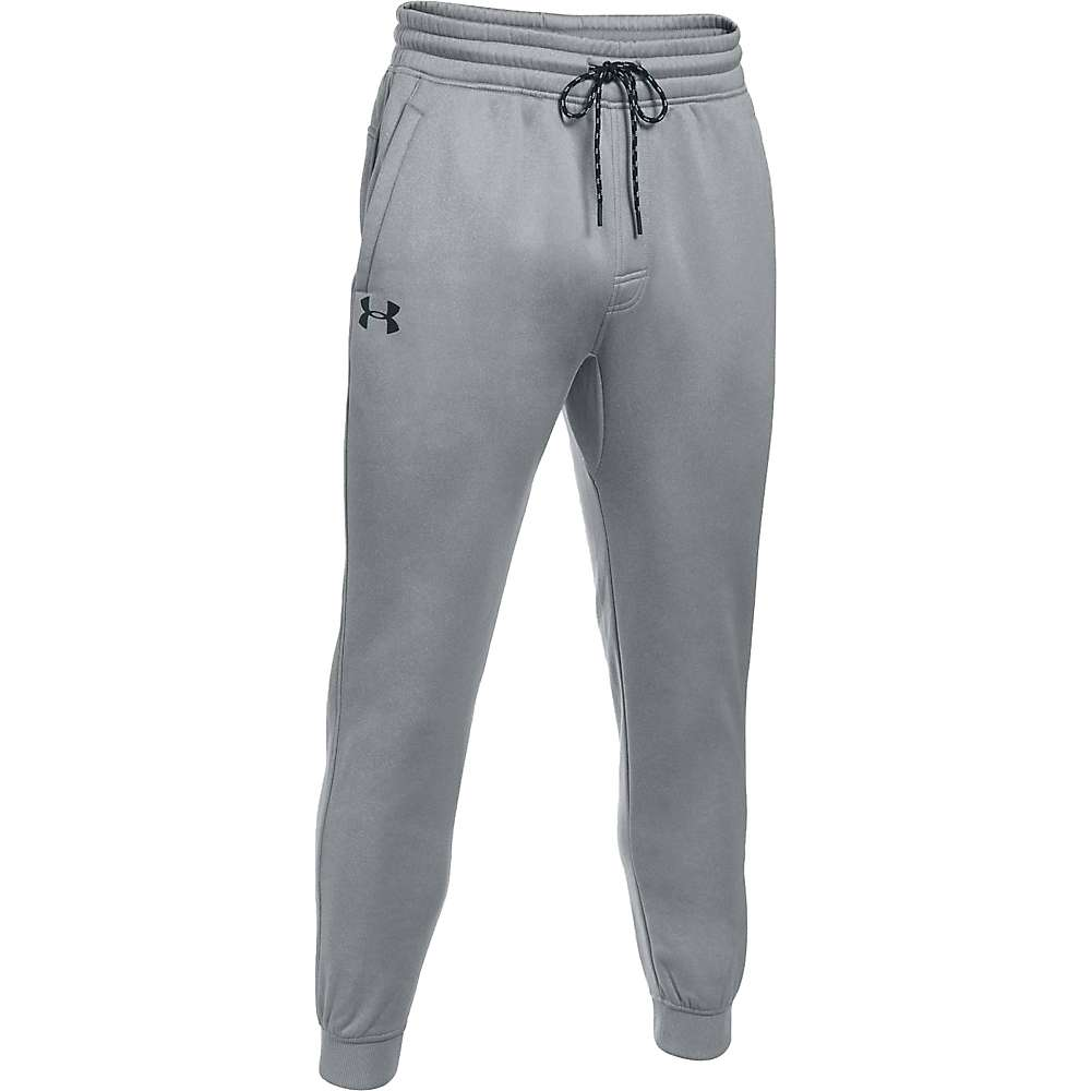 Under Armour Men's Storm AF Icon Jogger - XXL - True Grey Heather / Black