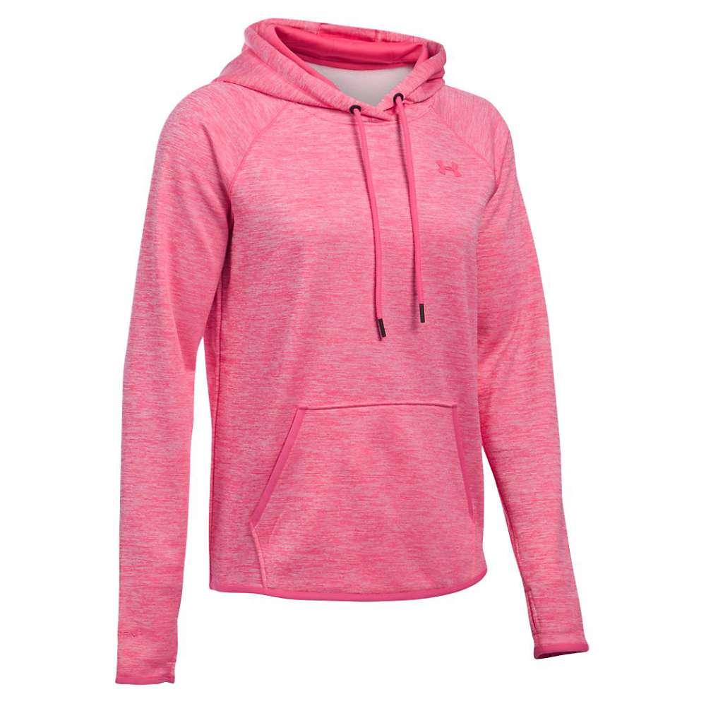 Under Armour Women's Storm AF Icon Twist Hoodie - Large - Pink Sky / Pink Sky / Pink Sky