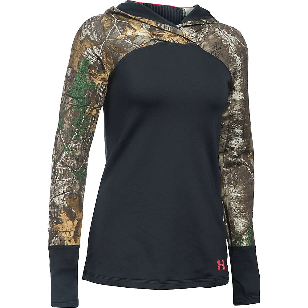 Under Armour Women's Tevo Hoodie - Large - Realtree Ap-Xtra / Pink Chroma