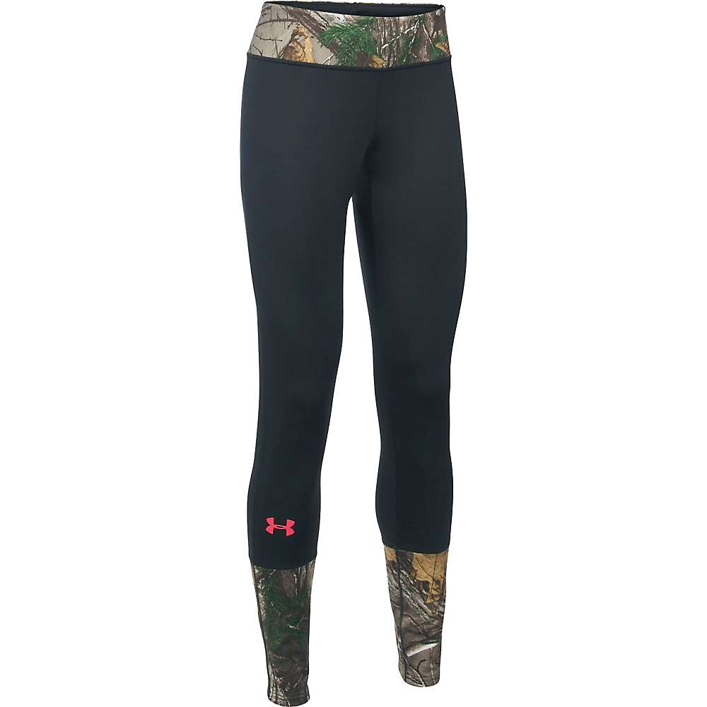 Under Armour Women's Tevo Legging - XL - Realtree Ap-Xtra / Pink Chroma