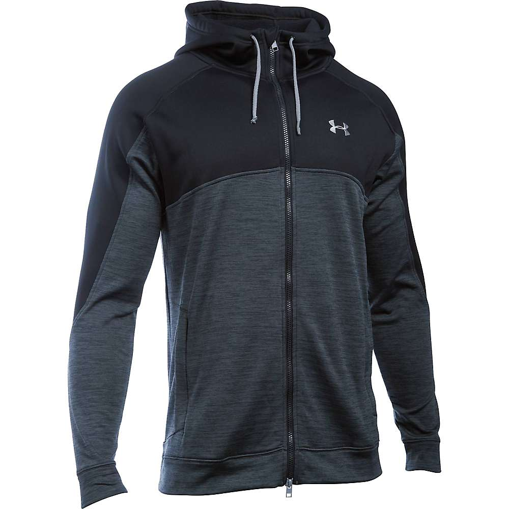 Under Armour Men's Expanse FZ Hoodie - Large - Stealth Grey / Steel
