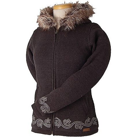 Laundromat Women's Anna Fleece Lined Sweater New Charcoal