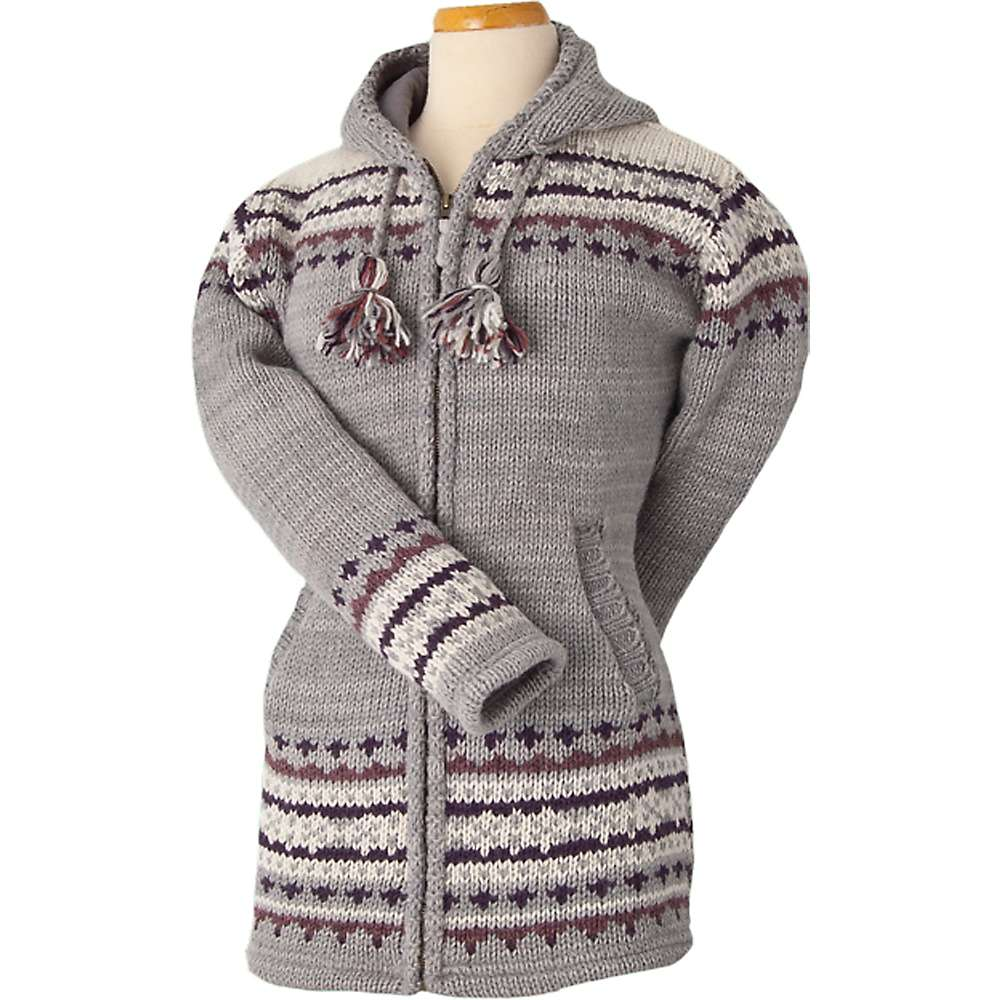 Laundromat Women's Elizabeth Fleece Lined Sweater - Small - Ash Grey