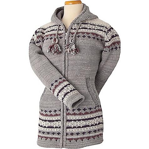 Laundromat Women's Elizabeth Fleece Lined Sweater Ash Grey